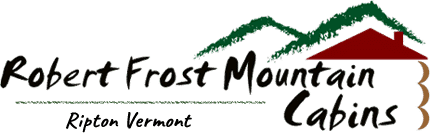 Robert Frost Mountain Cabins Logo